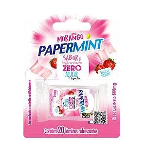 Lâmina Paper Mint Sabor Morango Danilla - Sexo Oral Refrescante