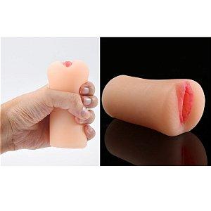 Masturbador Masculino vagina Pussy feito em Cyberskin 11cm