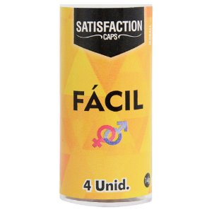 Bolinha Fácil 4x1 Anal 04 Unidades Satisfaction