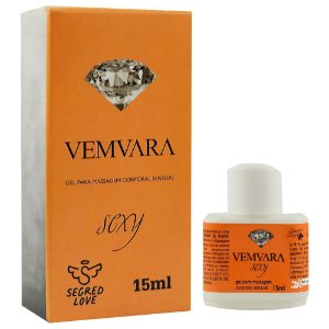 Lubrificante Vemvara Hot Ice 15ml Segred Love