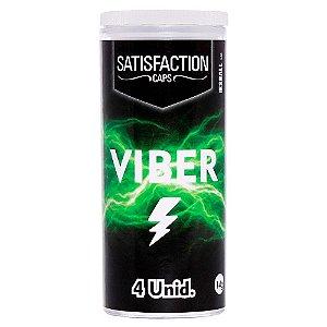 Bolinha Explosiva Eletrizante Viber 4 Unidades Satisfaction