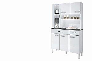 Armario De Cozinha Alfa 6 P Branco Sallêto