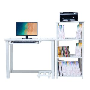 Estante e Mesa Conjugada Home Office Zafira Plus