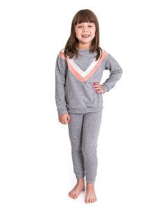 Conjunto Infantil Fitty Viezy Stripes Soft