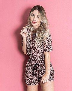 Pijama Classy Animal Print Roar