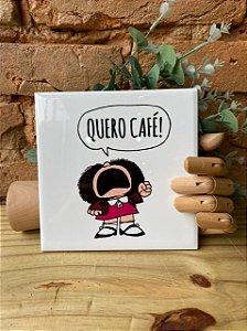 Azulejo Mafalda Quero Café