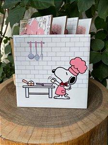 Azulejo Snoopy Ovo - 15X15