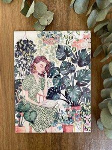 Azulejo Mari Plantas 15X20