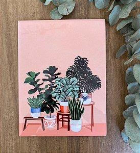 Vasos e plantas 15X20