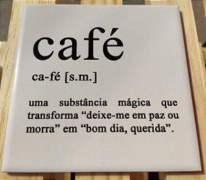 Azulejo 15 x 15 - Definição de café