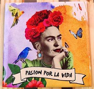 Azulejo 15 x 15 - Frida Passion pela vida