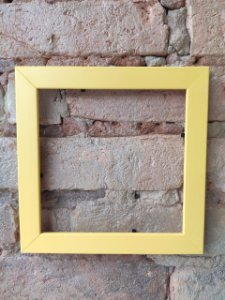 Moldura amarela ( Azulejo Criativo )