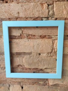 Moldura azul ( Azulejo Criativo )