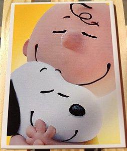 Azulejo 15 x 20 - Charlie e Snoopy