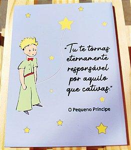 "Azulejo 15 x 20 - Pequeno príncipe ""tu te tornas"""