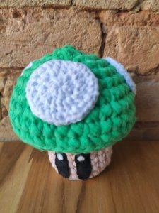 Peso de Porta ( Toad verde )