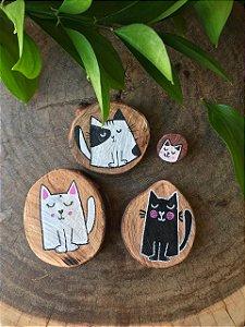 Imãs ( Coleção Gatos )