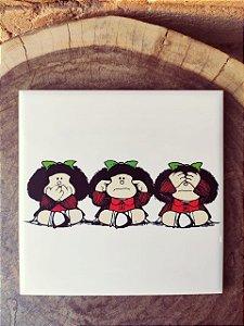 Azulejo 15 x 15 Mafalda sentidos