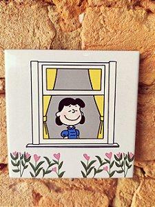 Azulejo  10 x 10 Lucy na janela