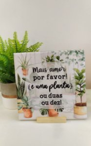 Azulejo Amor e Planta