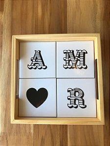 Bandeja ( Coleção Casa Amor )