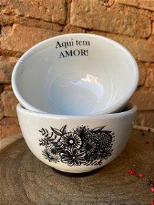 Bowl Amor com Flor 500 ml