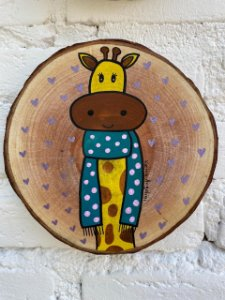 Bolacha Rústica Girafinha