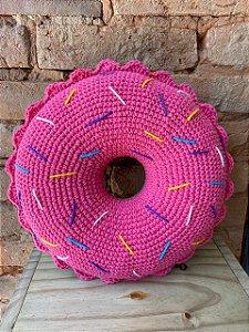 Almofada Donuts - Rosa