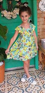 Vestido - Jardim limão
