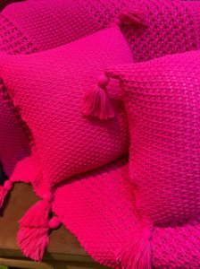 Manta Trico - Pink