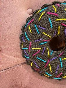 Almofada Donuts ( Marrom)