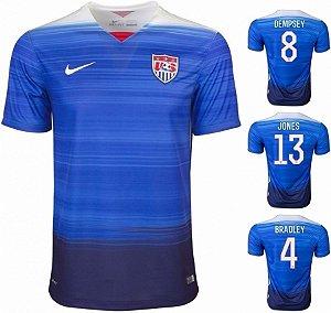 Camisa Estados Unidos Uniforme 2 2015 / 2016