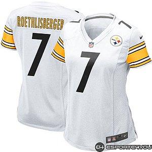Camisa Feminina Pittsburgh Steelers - NFL Futebol Americano