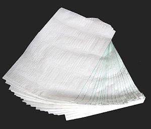 Sacos de ráfia para entulho tamanho 60x90 cm (pacote com 50 peças)