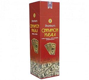 Incenso Indiano Canela massala 7 varetas - Chama dinheiro, alegria de viver.