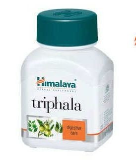 Fitoterápico TRIPHALA -   Contém 60 cápsulas vegetarianas de  250 mg cada  cápsula.