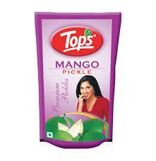 Tops-  Pickles de  Mix de manga verde! 100% Indiano Hindu 100g - Veg