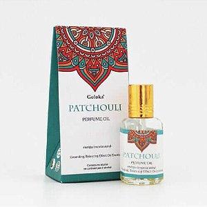 Perfume Indiano Patchouli -  Goloka - 10ml