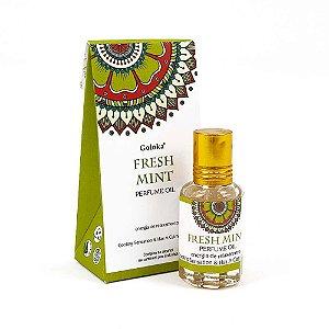 Perfume Indiano Hortelã -  Goloka - 10ml
