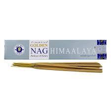 Incenso Massala Golden Nag Himalaya- Energia de purificação e Prosperidade.