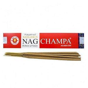 Incenso de Massala Golden Nag Champa- Energia de boas vibrações.