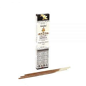 Incenso massala Indiano-Ayurvedic   Vanilla - Energia das boas vibrações.