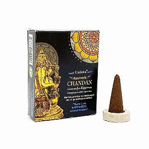 Incenso de Sândalo – Goloka CHANDAN - 10 Cones