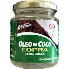 Óleo de Coco Extra Virgem 200ml.