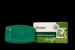 Himalaya- Sabonete  natural com NEEM  E TUMERIC. 125g.  origem vegetal.