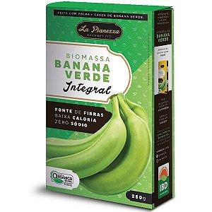 BioMassa Banana verde 250g.  Orgânico.  Potencializa a absorção de todos nutrientes que ingerimos.