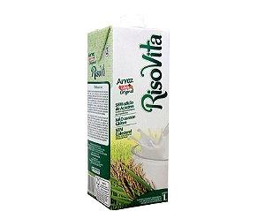 RisoVita Leite de arroz  1 litro. Sem Glúten , Sem adição de açucares ,Sem Lactose.