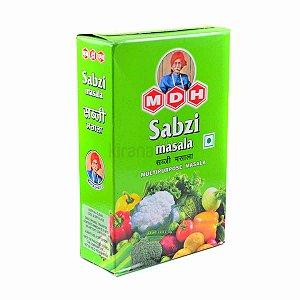 MDH Sabzi Massala 100g. Mistura de temperos pra vegetais.