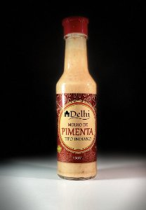 Molho de Pimenta Tipo Indiano - 150ml - Sem conservantes