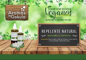 Repelente natural  com  Neem, Cidreira e Cravo. Conteúdo 200 ml.  Vegano  e com Formula  Ayurvedica.